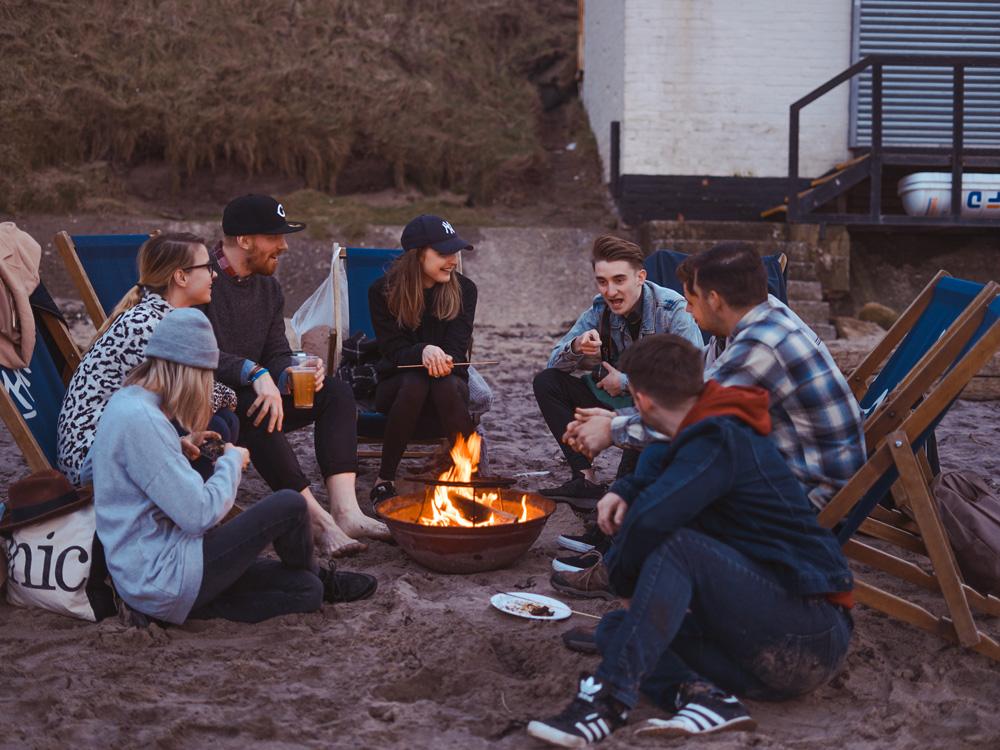 キャンプ、BBQ